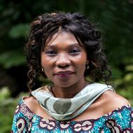 Cécile Ndjebet (Founder and President of the African Women's Network for Community Management of Forests)